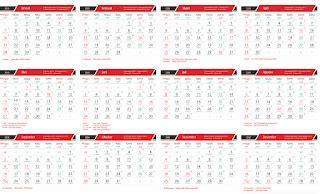 format buku besar pkh kalender 2018 lengkap indonesia arab jawa full 12 bulan