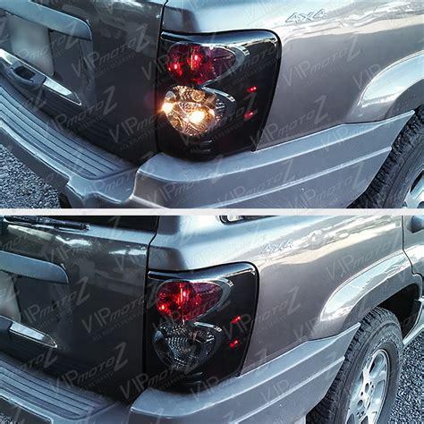 1999 jeep grand cherokee tail light 1999 2004 jeep grand cherokee wj wg sinister black smoke