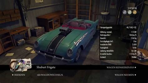 Mafia 2 Auto Tuning Stufe 3 by Mafia Ii Garage Full Of All Cars Youtube