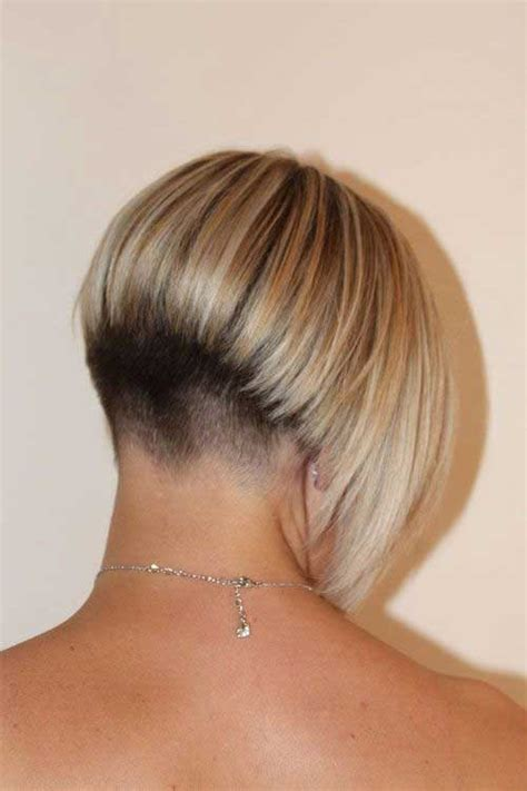 short layered hairstyles with short at nape of neck 20 very short bob haircuts bob hairstyles 2017 short