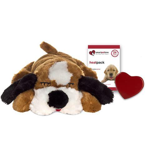puppy heartbeat snuggle puppy pl 252 schtier heartbeat mit herzschlag f 252 r welpen smart pet