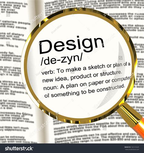 z layout definition design definition magnifier shows sketch plan artwork or