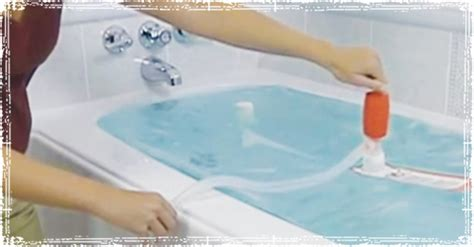 bathtub water storage using your bathtub for emergency water storage
