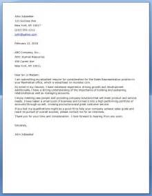 covering letter sle sales marketing cover letter