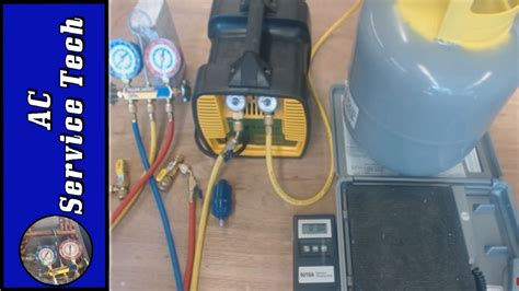 What Is A Refrigerant Recovery Machine by Refrigerant Recovery Machine Hose And Tank Setup