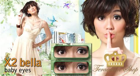 Softlens X2 Baby Baby Blue jogja softlens a x2 fame baby dll start from rp