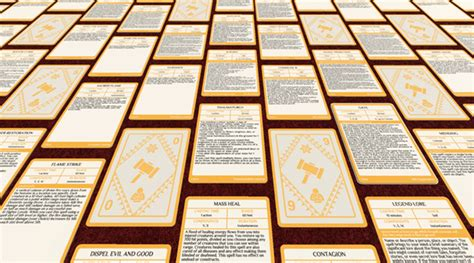 Gale 9 Diy Spell Cards Template by Free D D Printable Spell Cards 5e The Dm S Tavern