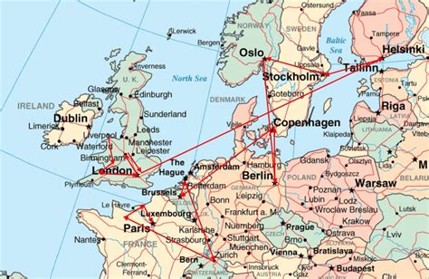 map of northern europe prg 2009 western europe speaking tour