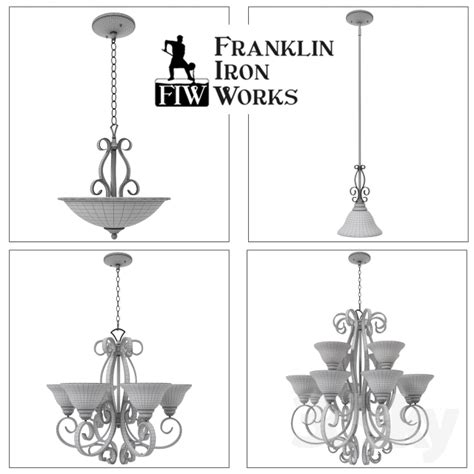 Franklin Iron Works Ls by 3d Models Ceiling Light Franklin Iron Works Manchester