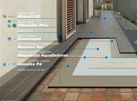 impermeabilizzazione terrazzo guaina bituminosa o mapelastic best impermeabilizzazione terrazzo mapei pictures idee