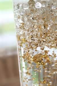 gold sequin wedding vases that shimmer mon cheri bridals