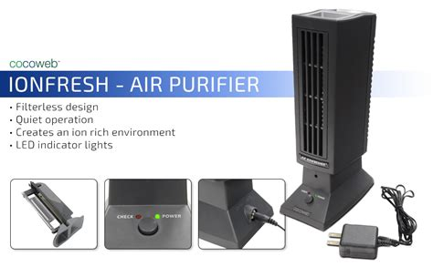 amazoncom ionfresh permanent filter ionic air purifier