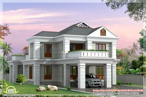 home design plan and elevation floor plan and elevation of 2336 sq 4 bedroom house