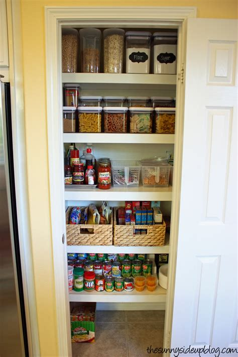 kitchen closet organization ideas pantry organization the next level the side up