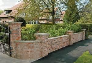 garden wall brickwork garden walls retaining walls boundary walls and steps essex se landscape