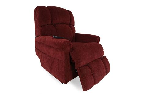 la z boy pinnacle recliner la z boy pinnacle merlot lift recliner mathis brothers