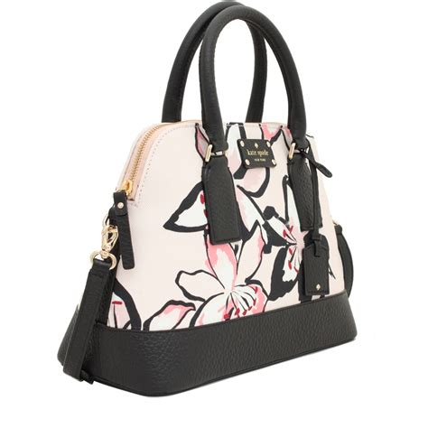 Kate Spade Bag 1 kate spade bay floral small rachelle bag pink
