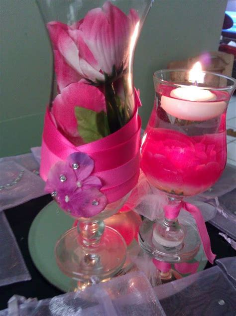 sweet sixteen centerpiece ideas sweet 15 16 decorations centerpieces sweet sixteen glass centerpieces and pink