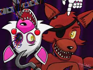 Foxy and mangle by queenwolfiey hd walls find wallpapers