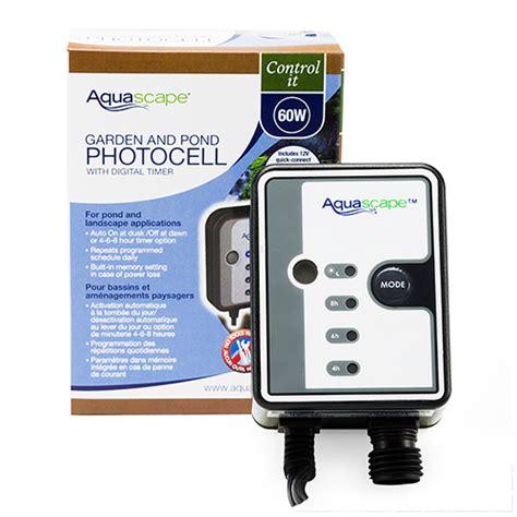 Kaiser Timer Digital Aquascape aquascape 12 volt photocell with digital timer mpn 84039 best prices on everything for ponds
