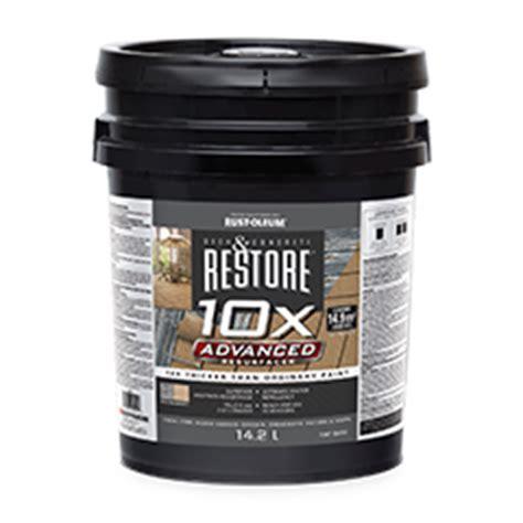 Restore Deck Liquid Armor Resurfacer by Deck And Concrete Restore 174 10x Advanced Resurfacer