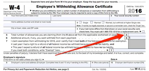 where do you put the st figuring out your form w 4 how many allowances should you