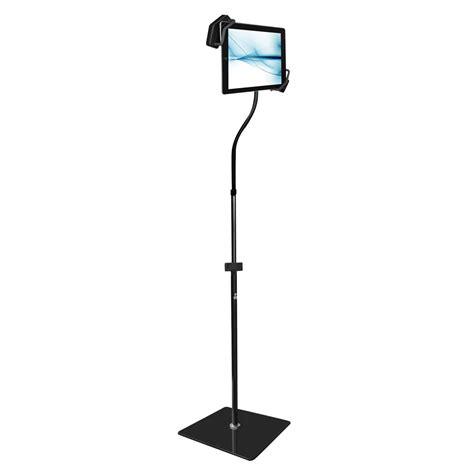 Gooseneck Floor Stand new pyle pmkspad35 universal tablet floor stand w