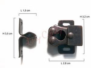 5 loquets porte loqueteau fermeture placard meuble