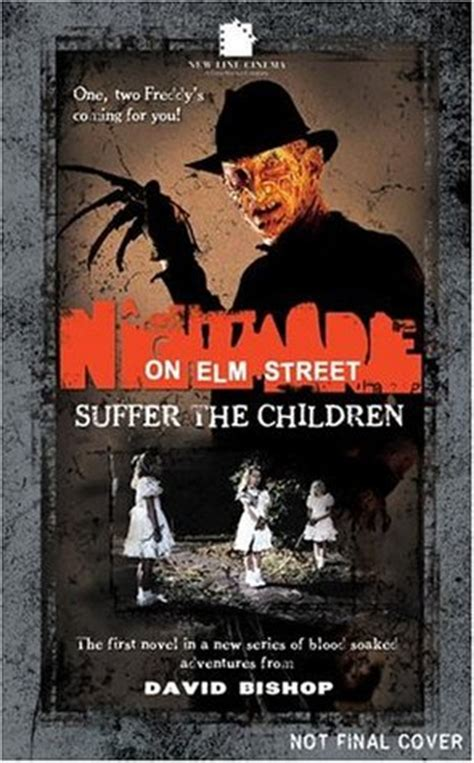 nightmare books a nightmare on elm suffer the children by david