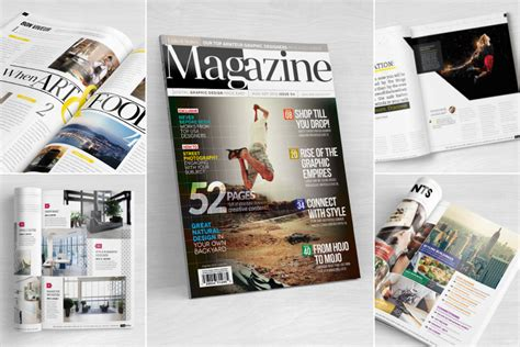 magazine layout for beginners love graphic design indesign magazine template 04