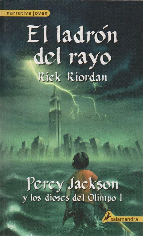 libro el ladron del rayo libros y juguetes 1demagiaxfa sagas literarias quot percy jackson y los dioses del olimpo quot de