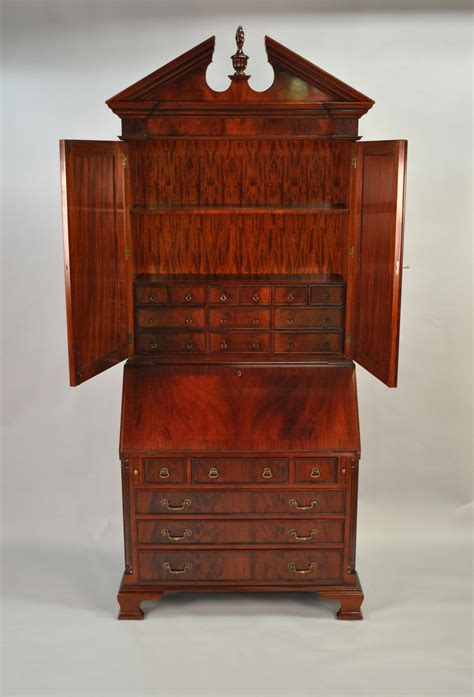 antique secretary desk styles mahogany antique styling colonial secretary desk ebay