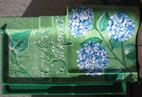 deko dachziegel kunstmacher deko dachpfannen handbemalt wetter und
