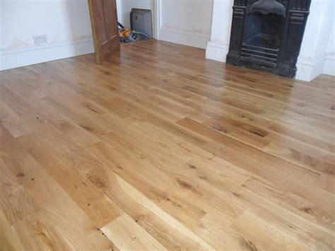 solid rustic oak timber flooring