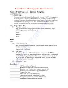 Request For Proposal Template   vnzgames