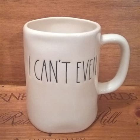 magenta mugs rae dunn quot i can t even quot coffee tea mug cup by magenta