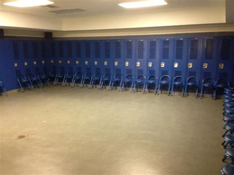 School Locker Room by Football Facilities Program Riverwood High School