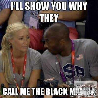 Black Funny Meme - black mamba meme