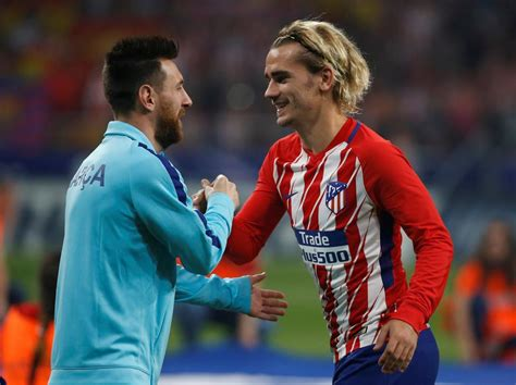 barcelona striker lionel messi hasn t yet signed contract antoine griezmann contacted by manchester city as pep