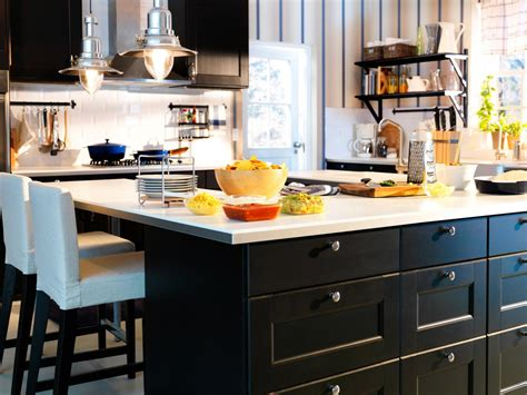 ikea kitchen island ideas farmhouse style kitchen pictures ideas tips from hgtv hgtv
