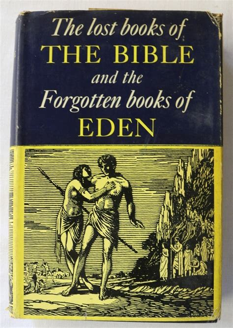 the lost books of the bible and the forgotten books of