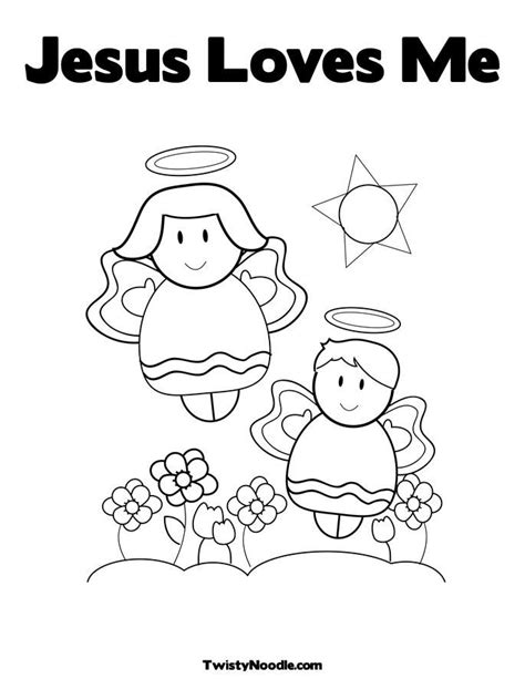 jesus loves me coloring pages for toddlers jesus love me coloring page coloring home