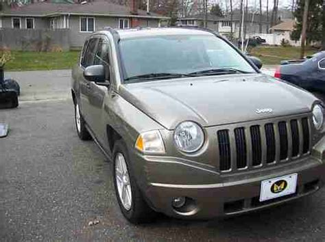 2007 Jeep Compass Gas Mileage Find Used 2007 Jeep Compass Suv 22 27 Mpg 4 Door Power