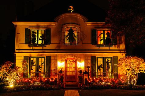 homes decorated for halloween halloween decorations on tumblr