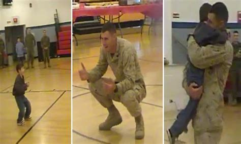 Smith Fails To Pay For Sons Autopsy by Us Marine Welcomed Home By With Cerebral Palsy As He