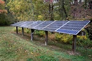 backyard solar power solar panel ground mounting systems solar wiring diagram