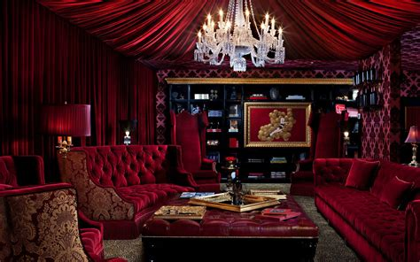wine red bedroom bordello chic immerse yourself in a make believe world