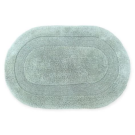 double bath mat visaaj double reversible oval bath rug bed bath beyond