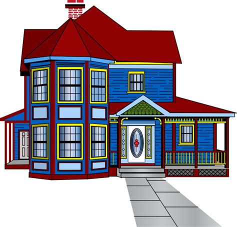 cartoon house clip art at clker com vector clip art image gallery huge cartoon houses