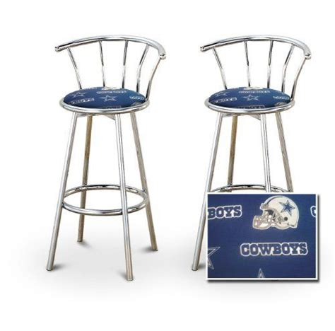 Dallas Cowboys Bar Stools With Back by Football Cowboys And The O Jays On